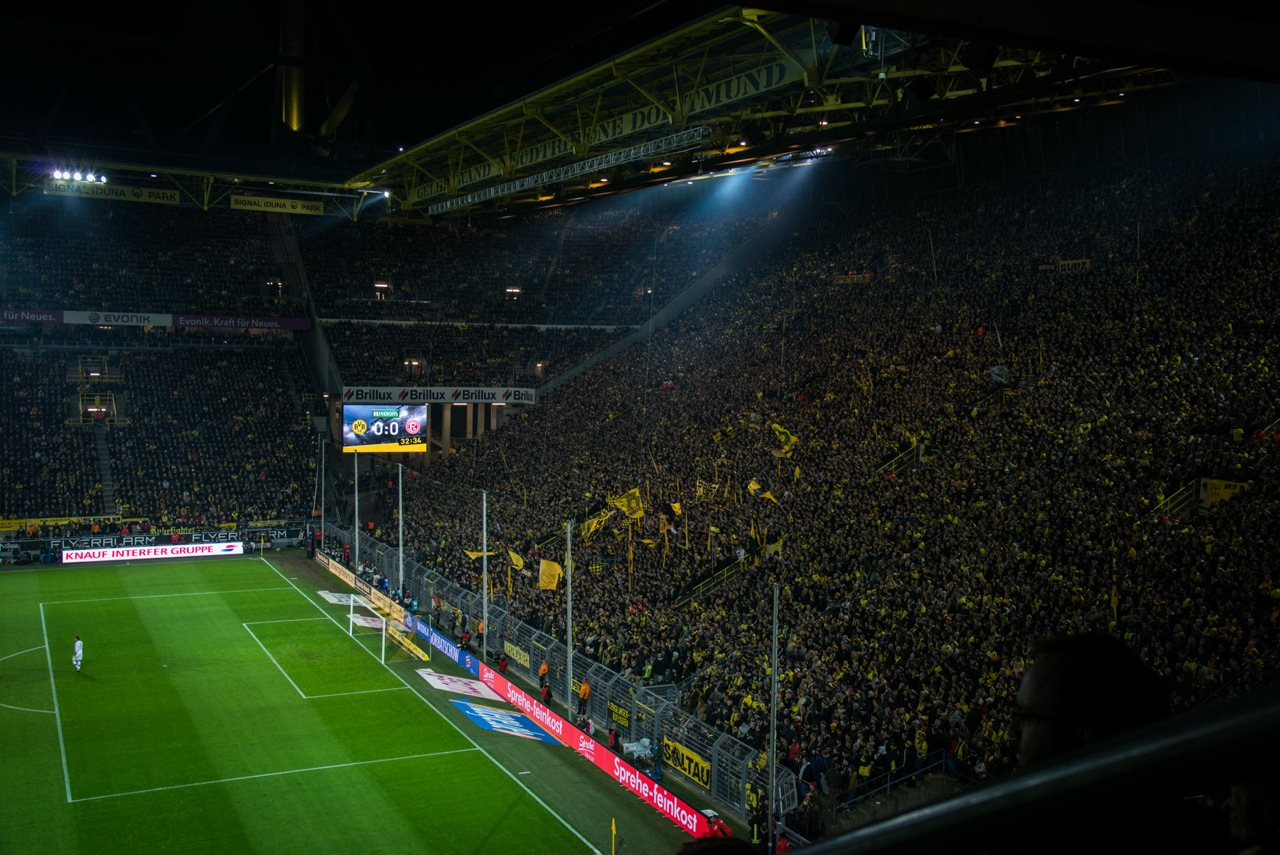 LED-Screen im Signal-Iduna-Park